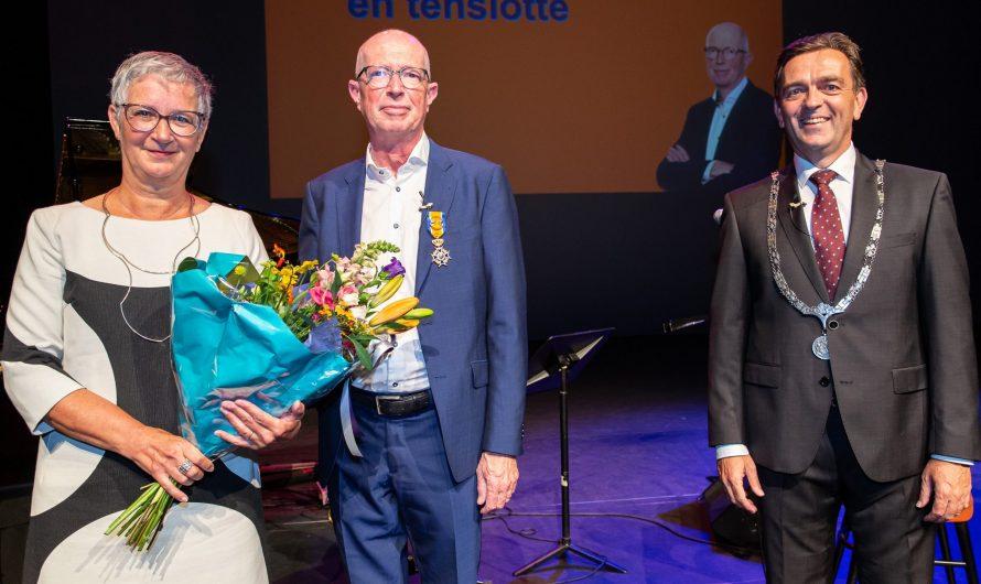 Zoetermeer – Onderscheiding voor Toine Maes