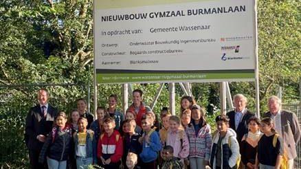 Wassenaar – Bouw gymzaal Burmanlaan van start