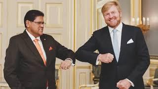 Regionieuws TV Suriname 10 sept  2021 – President Santokhi verovert Nederland – Brunswijk bij PCS