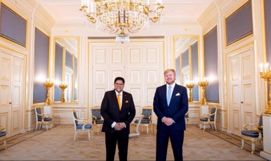 Regionieuws TV Suriname 8 sept.2021 – President Santokhi ontvangen door Koning Willem-Alexander