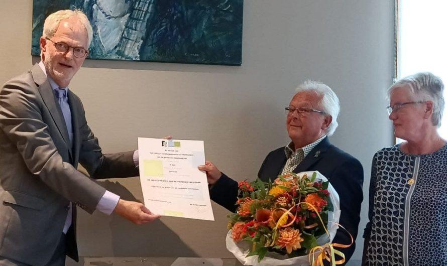Westland – WestlandStek voor bestuurslid Kastanjehof Kwintsheul
