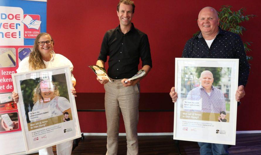 Haaglanden – Campagne tegen laaggeletterdheid in Den Haag begonnen